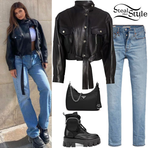 409 Leather Jacket Outfits Steal Her Style