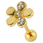 Supreme Jewelry Supreme JewelryTM Fashion Earring with Stones - Gold/Clear