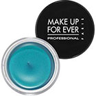 Make Up For Ever Aqua Cream in 21 Turquoise vibrant turquoise shimmer