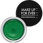 Make Up For Ever Aqua Cream in 22 Emerald Green golden green sheen