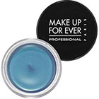 Make Up For Ever Aqua Cream in 25 Pastel Blue light blue shimmer