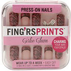 Fing'rs Fing'rs Prints Press-on Nails 1.0set in Girlie Glam - Sweet Silhouette