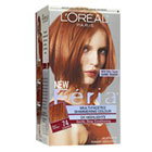 L'Oréal Paris Feria Multi-Faceted Shimmering Permanent Color in 74 Deep Copper