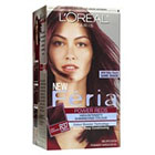 L'Oréal Paris Feria Multi-Faceted Shimmering Permanent Color in Power Reds R37 Deep Burgundy