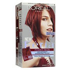 L'Oréal Paris Feria Multi-Faceted Shimmering Permanent Color in Power Reds R68 Rich Auburn True Red