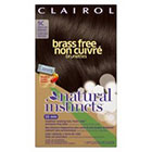 Clairol Natural Instincts Brass Free Hair Color     in Medium Brown-5c