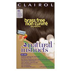 Clairol Natural Instincts Brass Free Hair Color     in Light Brown