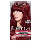 L'Oréal Paris Feria Multi-Faceted Shimmering Permanent Color in Power Reds R48 Intense Deep Auburn