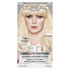 L'Oréal Paris Feria Absolute Platinum Advanced Lightening System with Anti-Brass Conditioner in Platinum