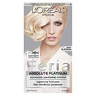L'Oréal Paris Feria Absolute Platinum Advanced Lightening System with Anti-Brass Conditioner in Very Platinum