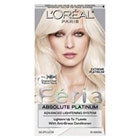 L'Oréal Paris Feria Absolute Platinum Advanced Lightening System with Anti-Brass Conditioner in Extreme Platinum