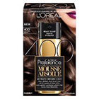 L'Oréal Paris Superior Preference Mousse Absolue™ Reusable Hair Color           in 400 Pure Dark Brown