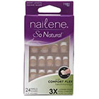 Nailene So Natural Nail Kit 1.0kit in Short Beige