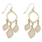 Target Zirconite Chandlier Druzy Earring - White