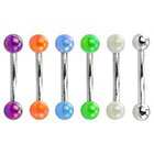 Supreme Jewelry Curved Barbell Eyebrow Ring in Multicolor