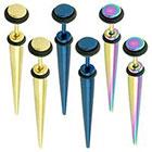 Supreme Jewelry Plug Earring in Multicolor