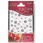 Cina Nail Creations Nail Art Jewelry Decals Ice Sparkles Rhinestones in Punky Princess