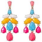 Natasha Accessories Beaded Earrings - Multicolor (2