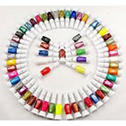 Amazon 30 Colors Nail Art Two-Way Pen and Brush Varnish Polish