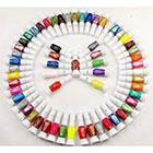 Amazon 30 Colors Nail Art Two-Way Pen and Brush Varnish Polish