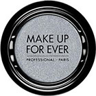 Make Up For Ever Artist Shadow Eyeshadow and powder blush in ME202 Iceberg Blue (Metallic) eyeshadow