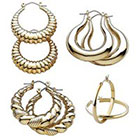Target 3 Pair Fashion Hoop Earring Set