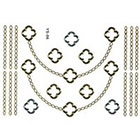Ily Couture Metallic Tattoo - Chain Necklace