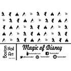 Amazon Magic of Disney Waterslide Nail Decals - 50PC