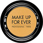 Make Up For Ever Artist Shadow Eyeshadow and powder blush in S404 Straw Yellow (Satin) eyeshadow