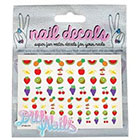 DIY Nails DIY Nails 'Fruity' Nail Decals Exclusive)