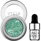 Stila Magnificent Metals Foil Finish Eye Shadow in Metallic Emerald emerald green sheen