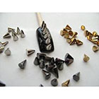 Amazon Nail Art 3d 150 Mix Cone Spike Studs Flat Back(50 Silver+50 Gold+50 Gunmetal) 4mm*5mm for Nails, Cell Phones