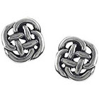 Target Sterling Silver Celtic Knot Stud Earrings - Silver