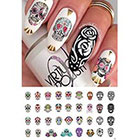 Rachael Ray Sugar Skull Nail Art Day of the Dead Decals Assortment #2 - Featured in Magazine October 2014!