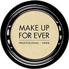 Make Up For Ever Artist Shadow Eyeshadow and powder blush in I414 Yellow Ivory (Iridescent) eyeshado