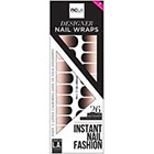 NCLA NCLA Au Naturale Nail Wraps in Black/multi