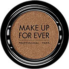 Make Up For Ever Artist Shadow Eyeshadow and powder blush in ME644 Iced Brown (Metallic) eyeshadow