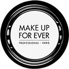 Make Up For Ever Artist Shadow Eyeshadow and powder blush in M126 Chalk (Matte) eyeshadow