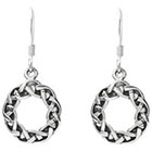 Target Sterling Silver Celtic Drop Earrings