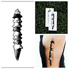 Tattify Ice-Cream - temporary tattoo (Set of 2)