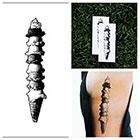 Tattify Ice-Cream - temporary tattoo (Set of 2)