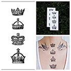 Tattify Crowns - temporary tattoo (Set of 2)