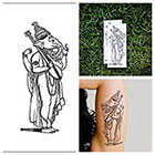 Tattify Ganesha Indian G-d - temporary tattoo (Set of 2)