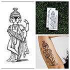Tattify Indian God - temporary tattoo (Set of 2)