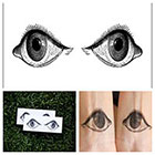 Tattify Eyes - temporary tattoo (Set of 2)