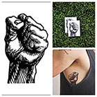 Tattify Fist - temporary tattoo (Set of 2)