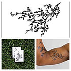 Tattify Black Branches - temporary tattoo (Set of 2)
