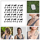 Tattify Musical Notes - temporary tattoo (Set of 2)