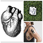 Tattify Heart - temporary tattoo (Set of 2)