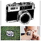 Tattify Vintage Camera - temporary tattoo (Set of 2)
